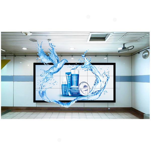 Glass free 3D display screenand lcd video wall