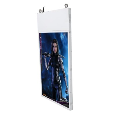 43 49 55inches double sided hanging screen-1