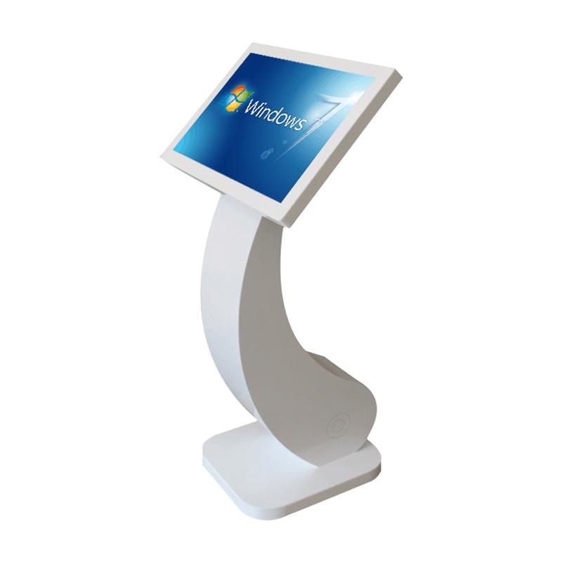 21.5 fish base touch screen kiosk
