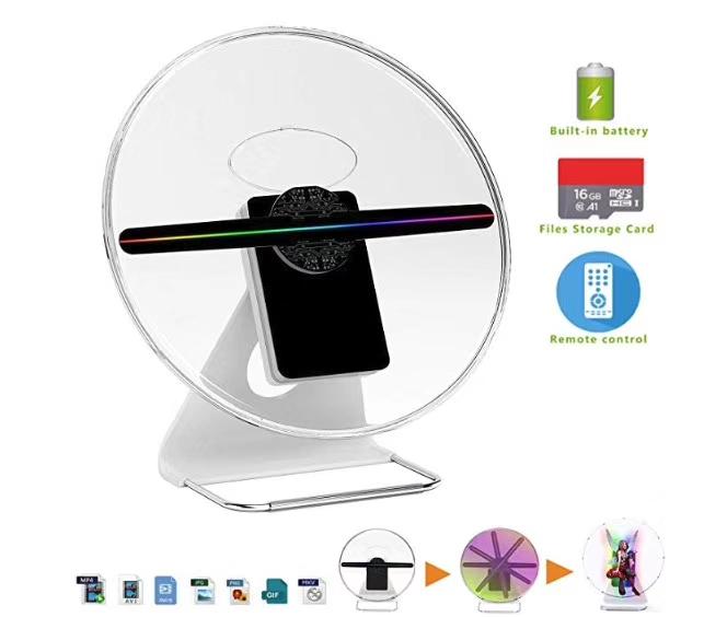 30cm 3d led hologram fan