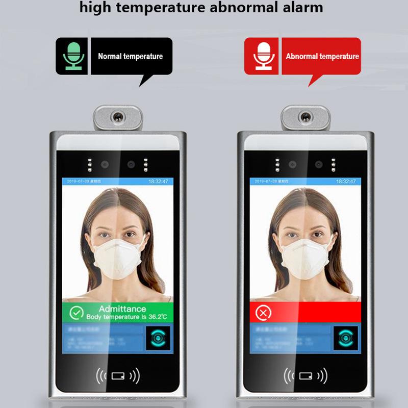 face recognization temperature signage 03