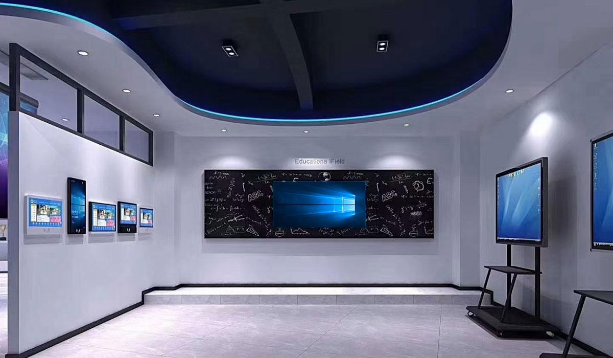 interactive digital signage-smart-board-exhibitions
