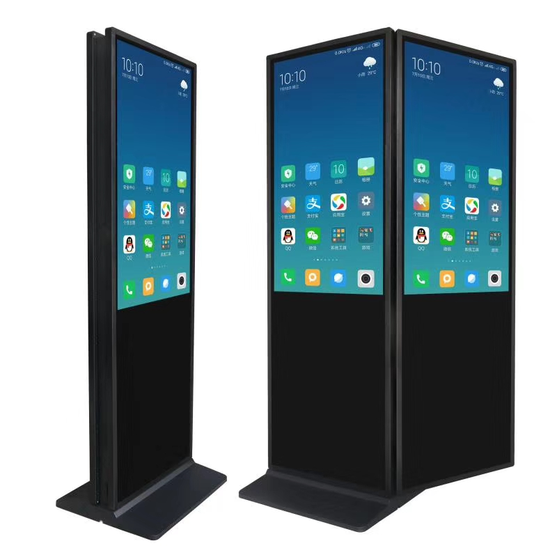 Double-sided digital signage standalone