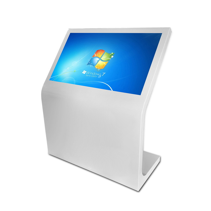 half stand touch screen kiosk customized