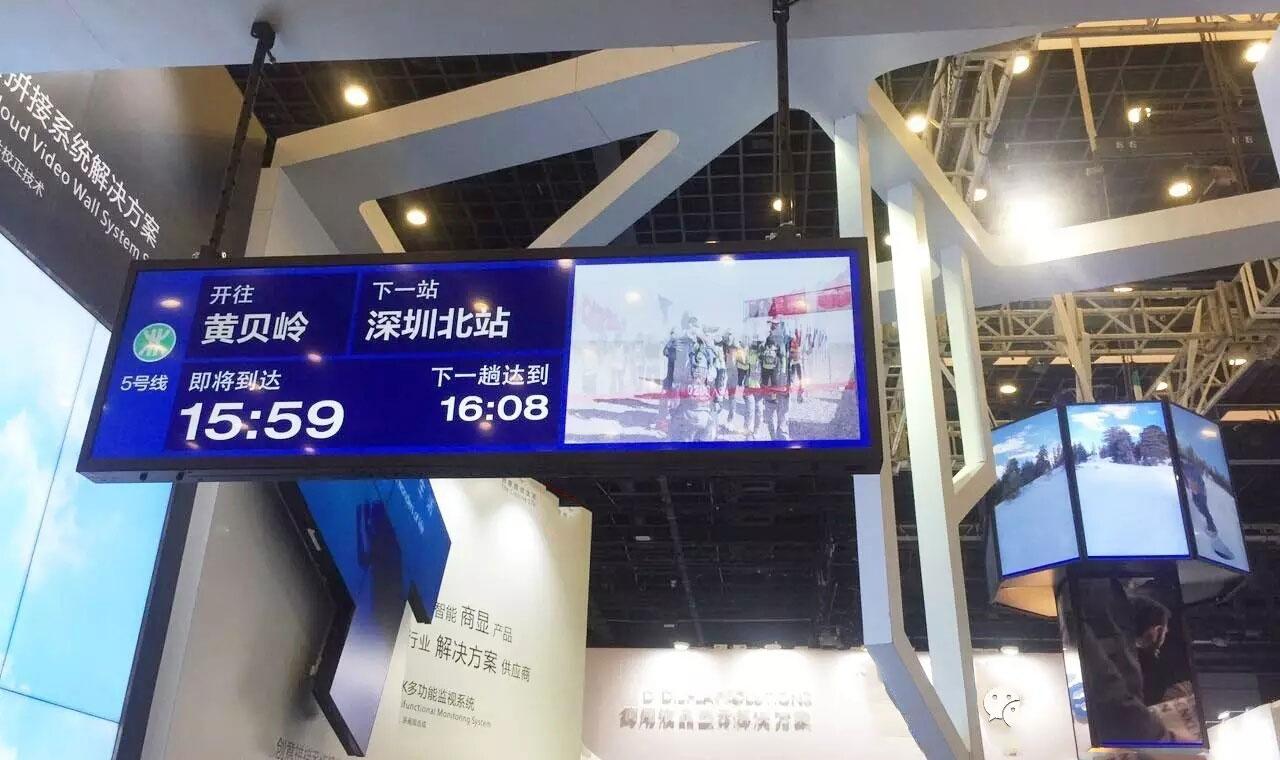 Smart Retail Shelves Bar-type screen
