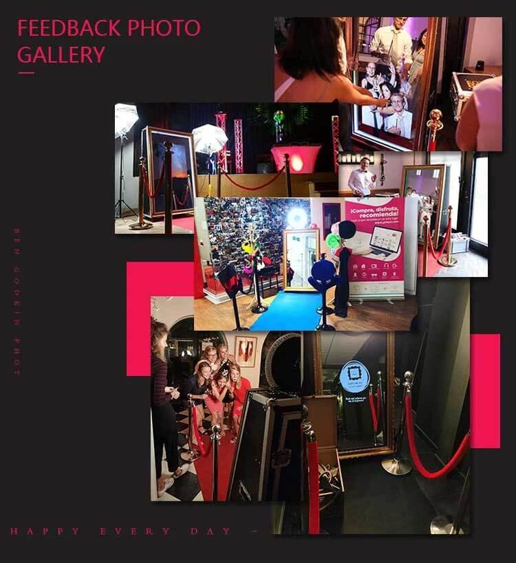 magic mirror sefie photo booth