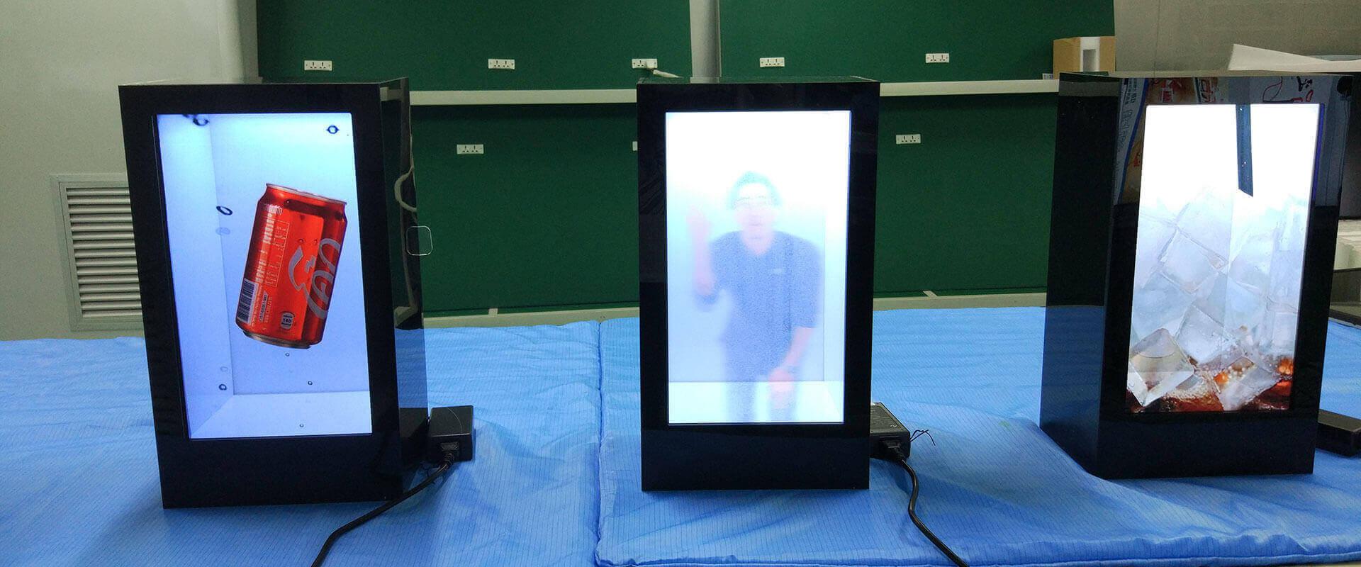 Transparent Display Screen Showcase